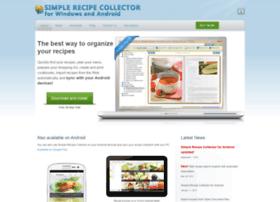 simplerecipecollector.com