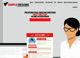simpleresume.com