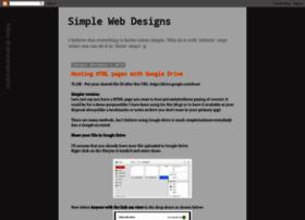 simplewebdesigns.blogspot.com