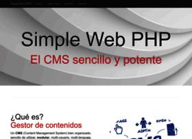 simplewebphp.com