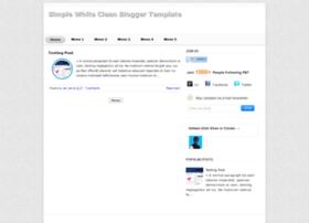 simplewhitebloggertemplate.blogspot.in