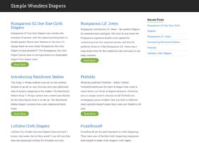 simplewondersdiapers.com