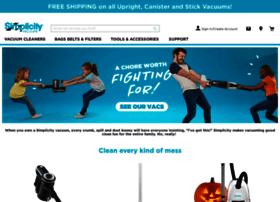 simplicityvac.com