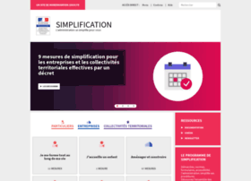 simplification.modernisation.gouv.fr