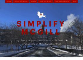 simplifymcgill.com
