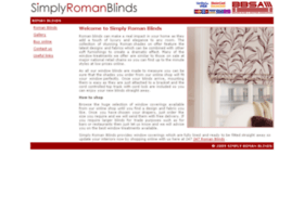 simply-roman-blinds.co.uk