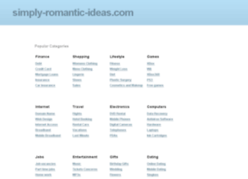 simply-romantic-ideas.com