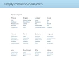 simply-romantic-ideas.com