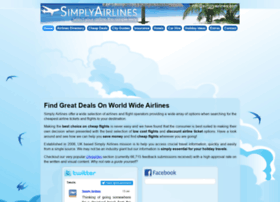 simplyairlines.com