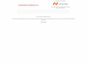 simplybathroomlighting.com