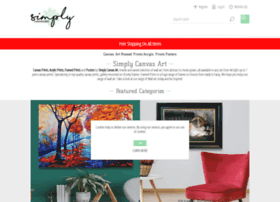 simplycanvasart.co.uk