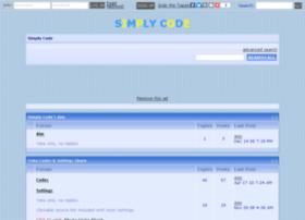 simplycode.yuku.com