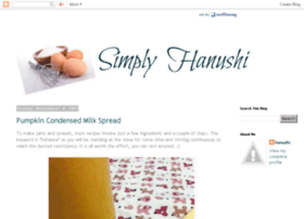 simplyhanushi.blogspot.com