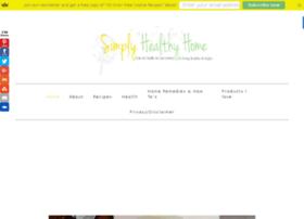 simplyhealthyhome.com