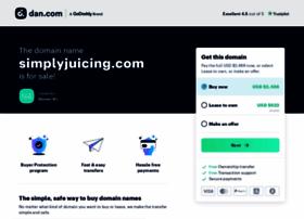simplyjuicing.com