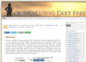 simplylivingdebtfree.com
