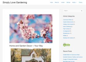 simplylovegardening.com