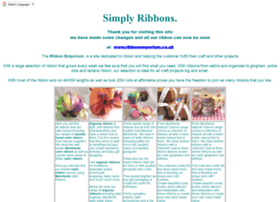 simplyribbons.co.uk