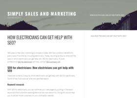 simplysalesandmarketing.co.uk