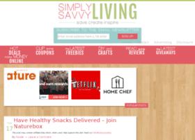simplysavvyliving.com
