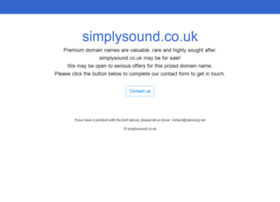 simplysound.co.uk