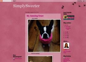 simplysweeter.blogspot.com