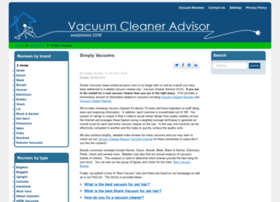 simplyvacuums.com