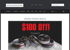 simplywoodrings.com