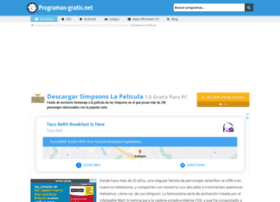 simpsons-la-pelicula.programas-gratis.net