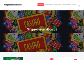 simpsonssoundboards.com