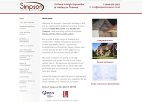 simpsonsurveyors.co.uk