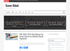 sinavgunu.com