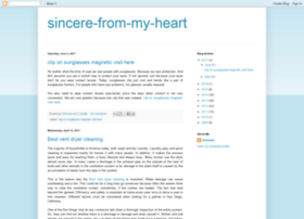 sincere-from-my-heart.blogspot.com