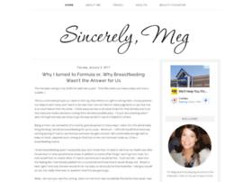 sincerelymeg.com