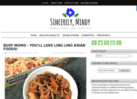 sincerelymindy.com
