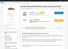 sinclairinternational.bluepromocode.com