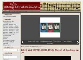 sinfonia-sacra.de