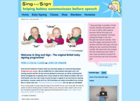 singandsign.com