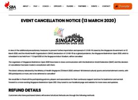 singaporebadmintonopen.com.sg