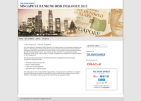 singaporeriskdialogue2013.asianbankerforums.com