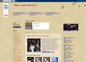 singasongbook.blogspot.in