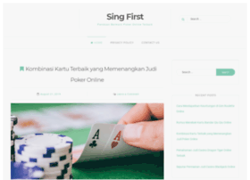 singfirst.org