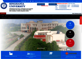 singhaniauniversity.co.in