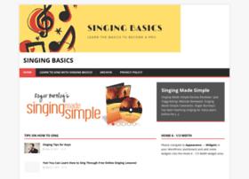 singingbasics.com