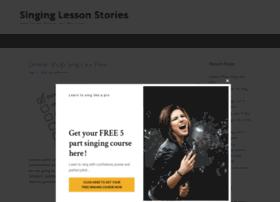 singinglessonstories.com
