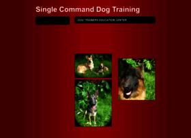 singlecommanddogtraining.com