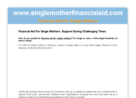 singlemotherfinancialaid.com