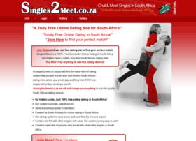 singles2meet Join sa's #1 dating site for meeting single women seeking men meet like-minded single women looking for men with elitesingles register free.