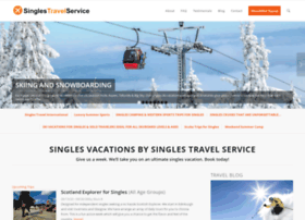 Escorted singles tours [ WELCOME TO MY HOME PAGE ]