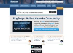 singsnap.net